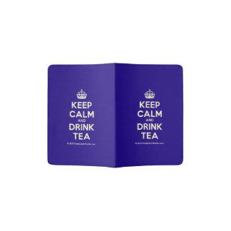 Maintenez thé calme et de boissons protège-passeport