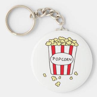 Maïs éclaté de salle de cinéma d'amusement en porte-clés