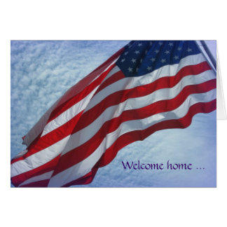 Maison bienvenue - Merci - carte de voeux