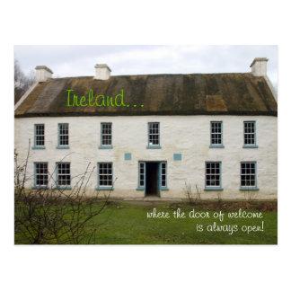 Maison irlandaise : Notre porte est toujours carte