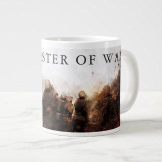 Maître de grande tasse de café de guerre