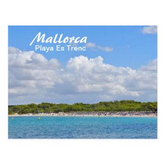 Majorque, Playa es Trenc - carte postale