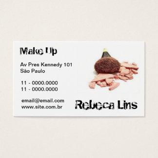 MakeUP 1 Cartes De Visite