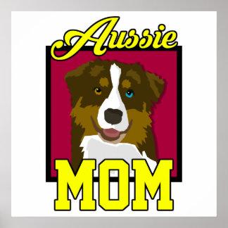 Maman australienne poster