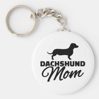 Maman de teckel porte-clés