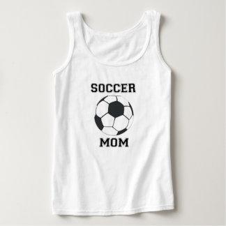 Maman du football débardeur
