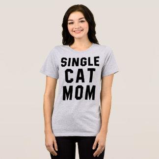 Maman simple de chat de T-shirt de Tumblr