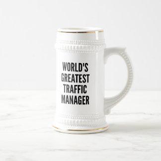 Manager van het Verkeer van werelden de Grootste Bierpul