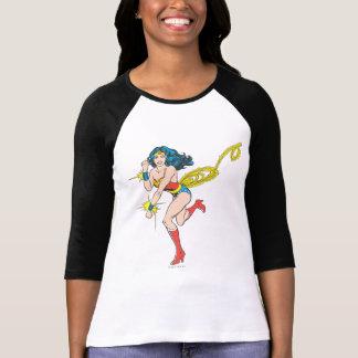 Manchettes de femme de merveille t-shirt