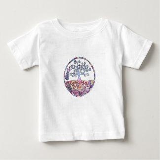 Mandala - arbre de la vie dans le paradis t-shirt pour bébé