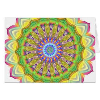 Mandala - complexité carte