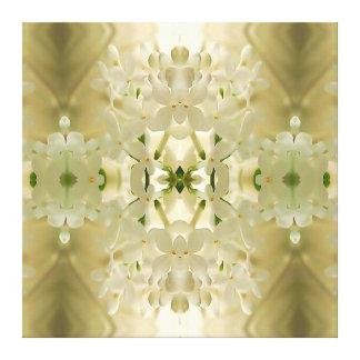 """Mandala """"de bouquet de fleur"""" toile"""