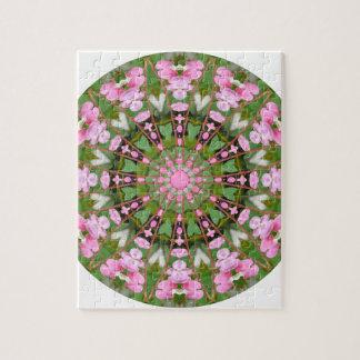 Mandala de fleur, défenseurs de la veuve et de puzzle