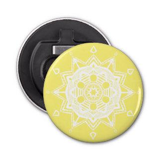 Mandala de fruit d'étoile décapsuleur