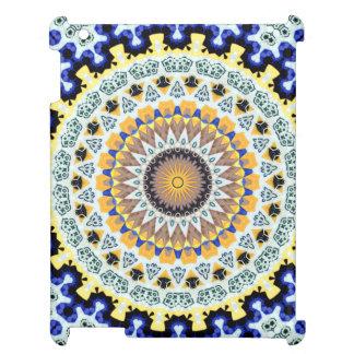 Mandala de kaléidoscope au Portugal : Motif 224,3 Coque Pour iPad
