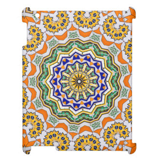 Mandala de kaléidoscope au Portugal : Motif 232,1 Coque iPad