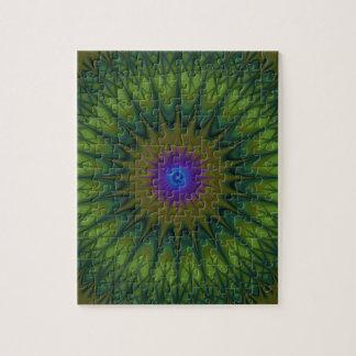 Mandala de nature puzzle