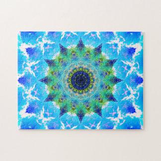 Mandala de ondulation d'étoile d'océan puzzle