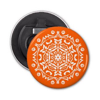 Mandala de pavot décapsuleur