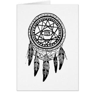 Mandala de recherche de vision de Dreamcatcher Carte