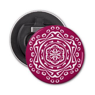 Mandala de vin décapsuleur