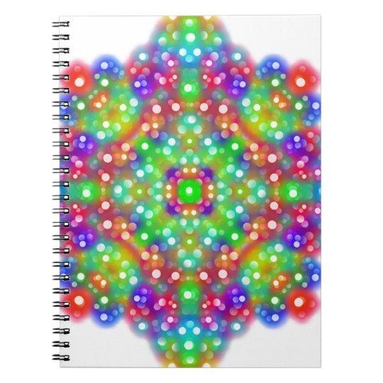 Mandala d'expression de joie carnet
