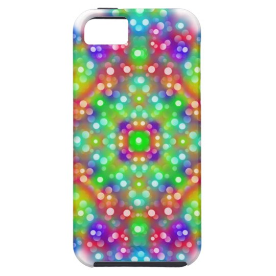 Mandala d'expression de joie coque tough iPhone 5