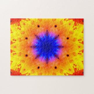 Mandala d'implosion puzzle
