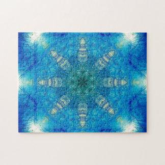 Mandala en forme d'étoile puzzle