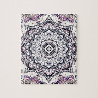 Mandala octogonal abstrait puzzle