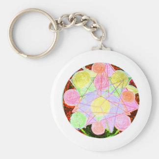 Mandala Porte-clés