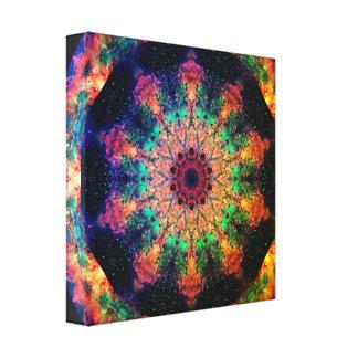Mandala psychédélique de voyage toile