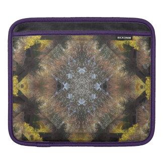 Mandala renversant de rive d'automne poches pour iPad