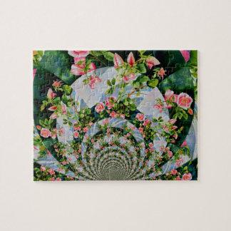 Mandala rose de Mackinac Puzzle