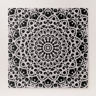 Mandala tribal G385 de mandala de puzzle