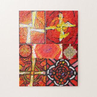 Mandalas celtiques - puzzle abstrait