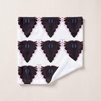Mandalas noirs blancs de lavette