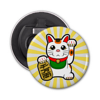Maneki Neko : Chat chanceux japonais Décapsuleur