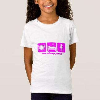 mangez la corde de saut de sommeil T-Shirt