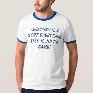Mangez la natation de T-shirt de bain de sommeil