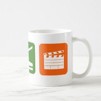 Mangez la production cinématographique de sommeil mug