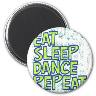 mangez la répétition de danse de sommeil aimant