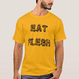 Mangez le T-shirt des hommes de chair
