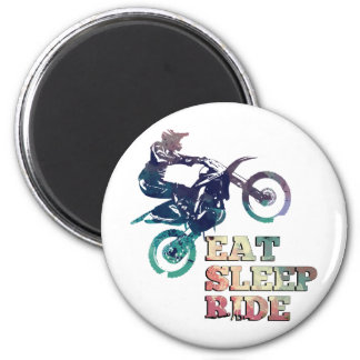 Mangez le vélo de saleté de tour de sommeil aimant