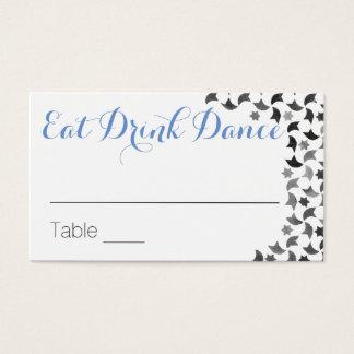 Mangez les cartes nominatives de la danse | de