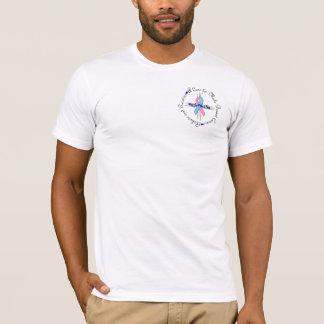 Mannelijke borstkanker t shirt