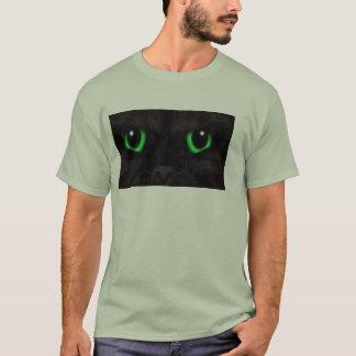 Mannen T-shirt kattenogen