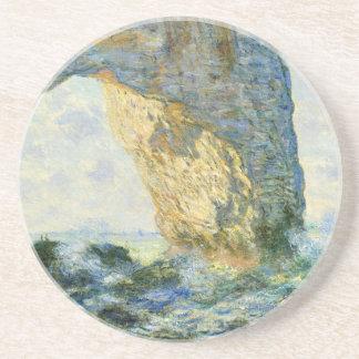 Manneporte, voûte de roche - Étretat (Normandie) - Dessous De Verre En Grès