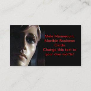 Mannequin Masculin Cartes De Visite