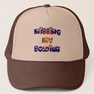 Manquer mon soldat casquette